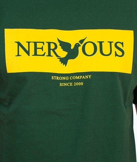Nervous-Brand Box F17 T-shirt Zielony