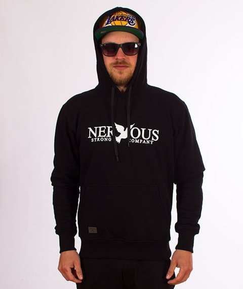 Nervous CLASSIC Bluza z Kapturem Czarny