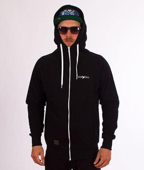 Nervous-Classic Sp18 Bluza Kaptur Zip Black