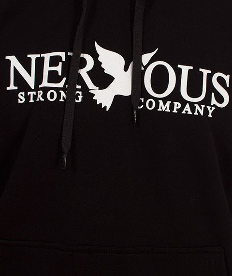Nervous-Classic Sp18 Bluza z Kapturem Black