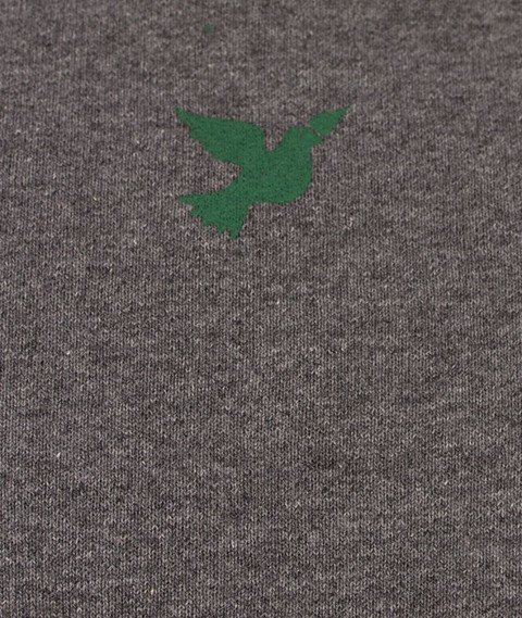 Nervous-Crewneck F17 Script Bluza Szara/Zielona