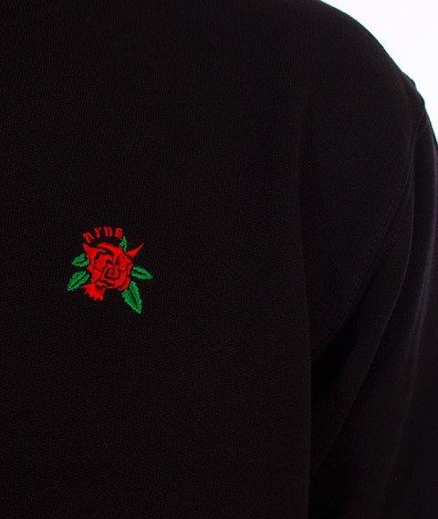 Nervous-Crewneck Sp18 Rose Bluza Black