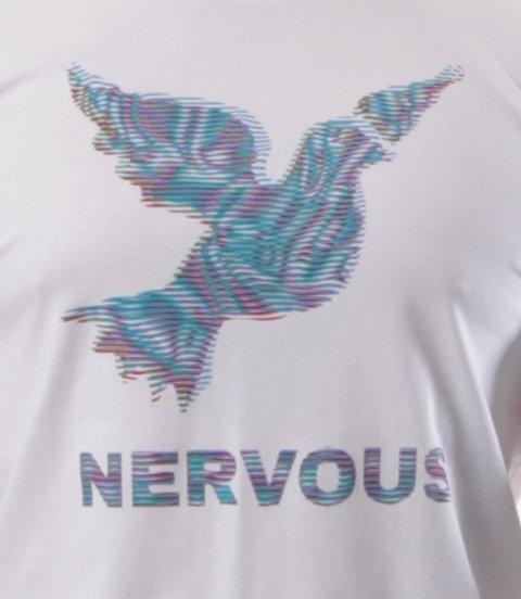 Nervous-LCD SS19 T-shirt Biały