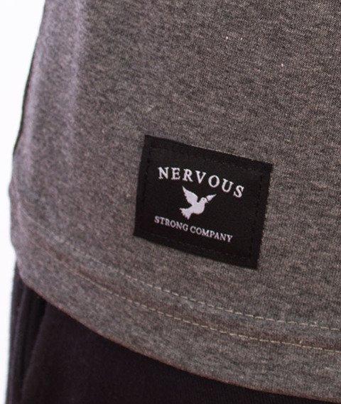 Nervous-Map T-shirt Grey