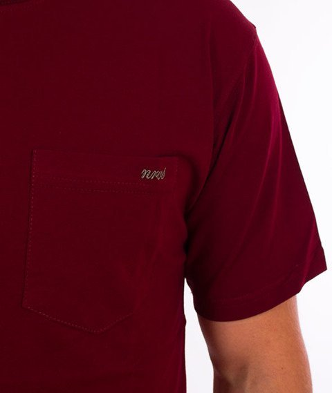Nervous-Pocket Sp18 T-shirt Maroon