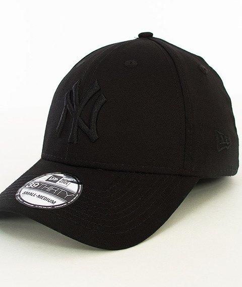 New Era-Basic New York Yankees Czapka z Daszkiem Czarna/Czarna