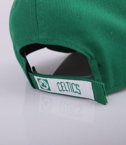 New Era-Boston Celtics NBA Team 9Forty Czapka z Daszkiem Zielona