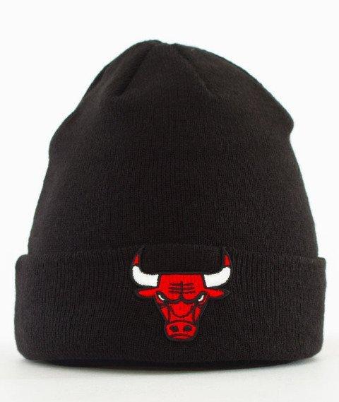 New Era-Chicago Bulls Czapka Zimowa Czarna