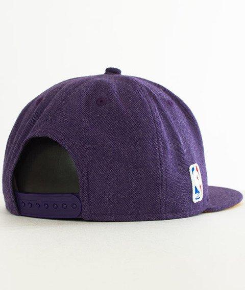 New Era-Lakers Heather Snapback Fioletowa