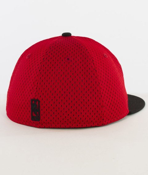 New Era-NBA Sports Mesh Chicago Bulls Cap Red/Black
