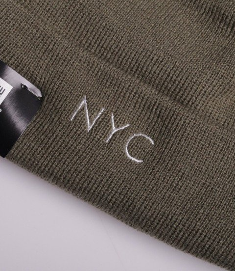 New Era NYC Czapka Zimowa Khaki
