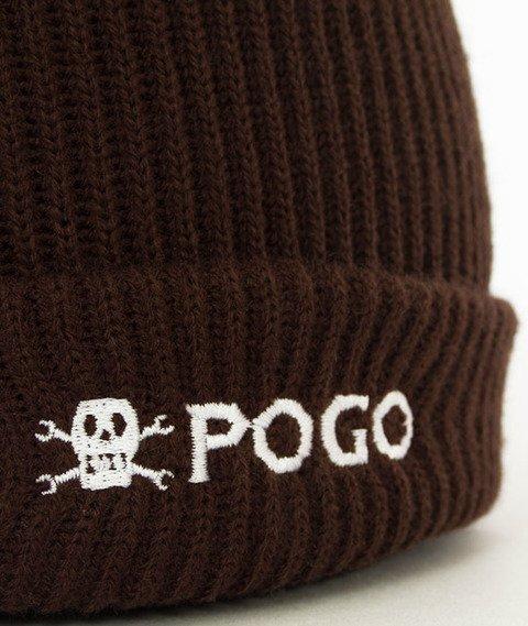 POGO-Small Beanie Brown Czapka Zimowa Brązowa