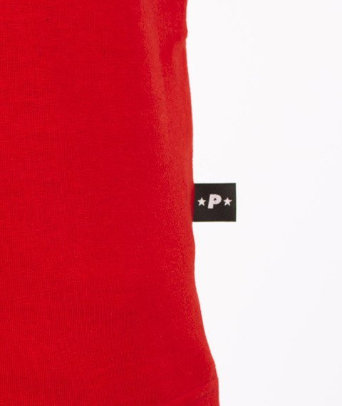 Patriotic-Apparel T-Shirt Czerwony/Czarny
