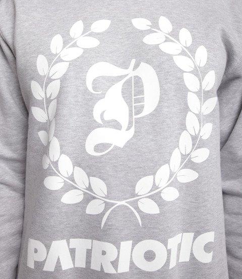 Patriotic Big Laur Bluza bez kaptura Szary