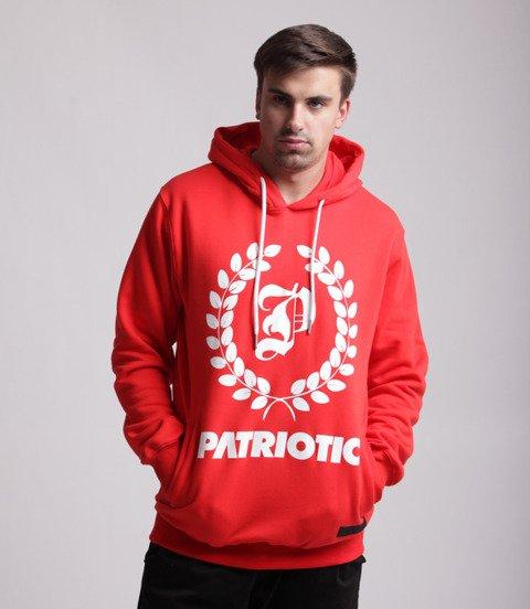 Patriotic Big Laur Bluza z kapturem Miętowy / Granatowy