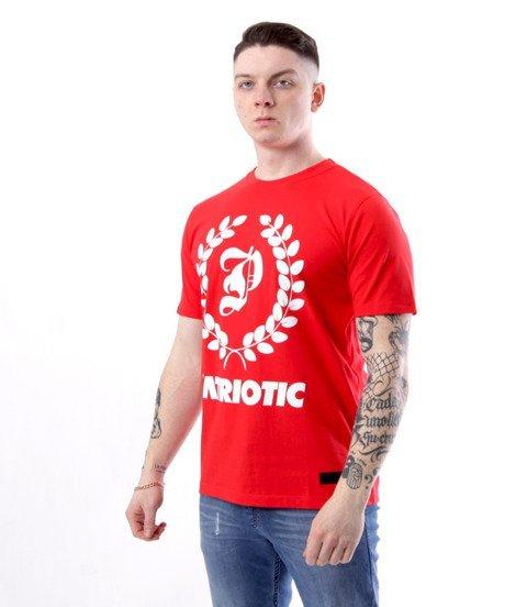 Patriotic-Big Laur T-shirt Czerwony
