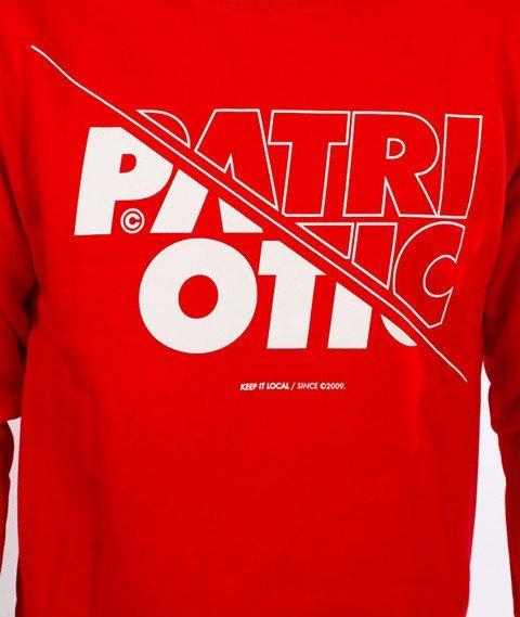Patriotic-CLS Cut Line BKL Bluza Czerwona