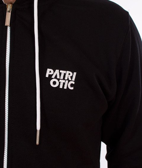 Patriotic-CLS K ZIP Bluza Kaptur Rozpinana Czarna