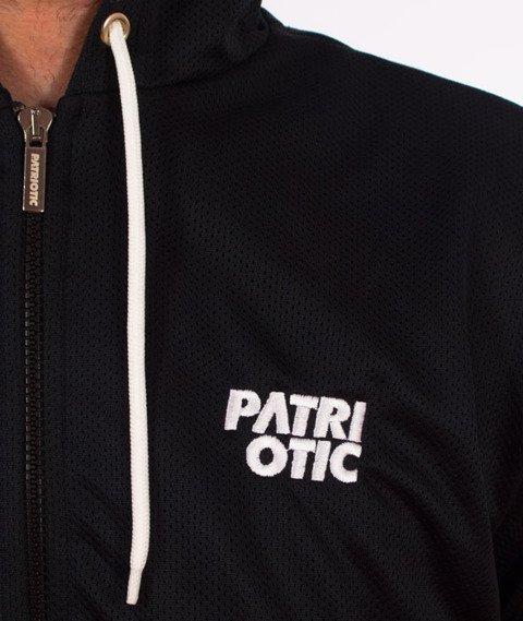 Patriotic-CLS ZIP Bluza Kaptur Rozpinana Czarna