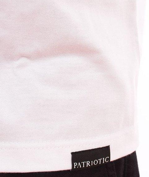 Patriotic-Fingerprint T-shirt Biały