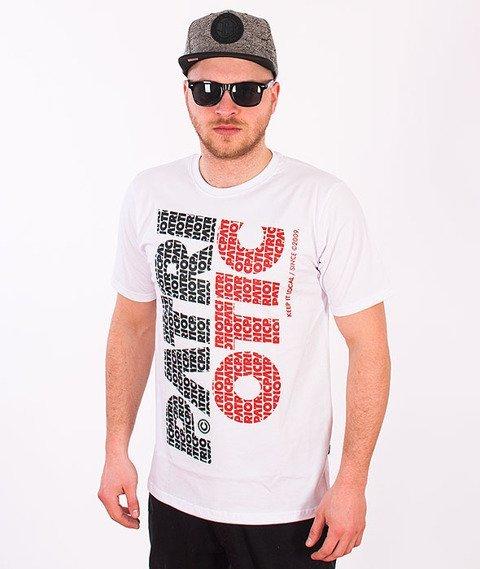 Patriotic-Fonts Pion T-shirt Biały