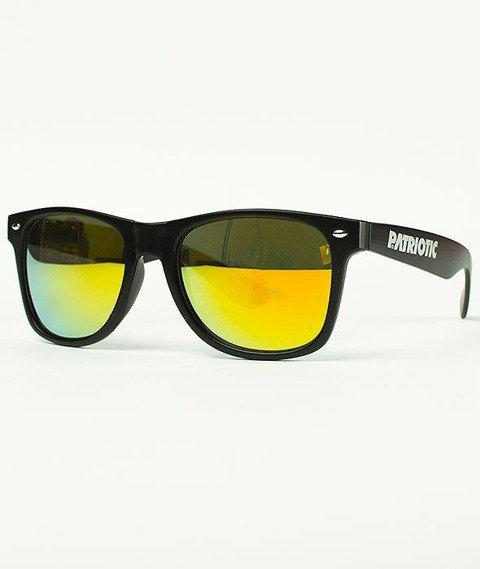 Patriotic-Futura Classic Okulary Czarne/Złote