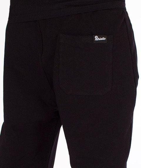 Patriotic-Futura Spodnie Dresowe Czarne