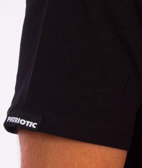 Patriotic-Glitch T-shirt Czarny