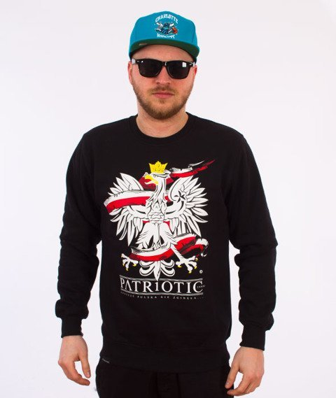 Patriotic-Godło 2 Bluza Czarna