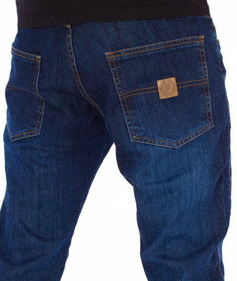 Patriotic-Jeans Jogger Spodnie Medium Blue