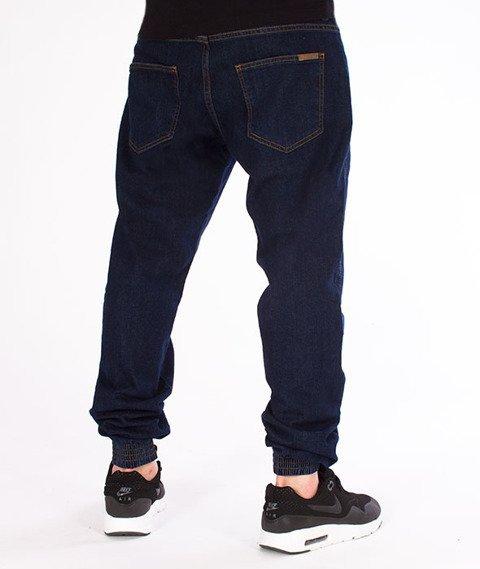 Patriotic-Jogger Jeans Spodnie Ciemny Niebieski
