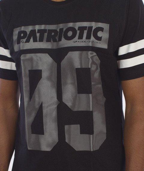 Patriotic-Mesh09 T-Shirt Czarny