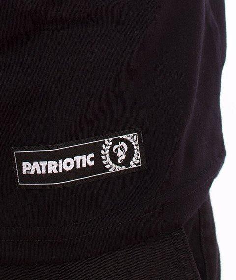 Patriotic-P Big Flag T-shirt Czarny