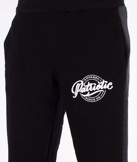 Patriotic-Pat Since Spodnie Dresowe Czarny/Grafitowe