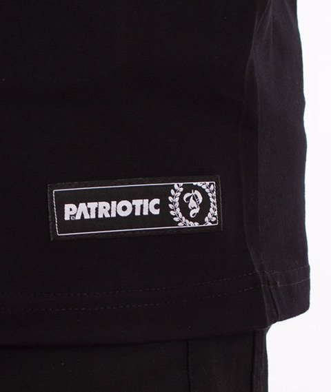 Patriotic-Pat Since T-shirt Czarny