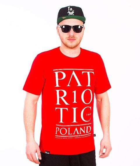 Patriotic-Poland T-shirt Czerwony