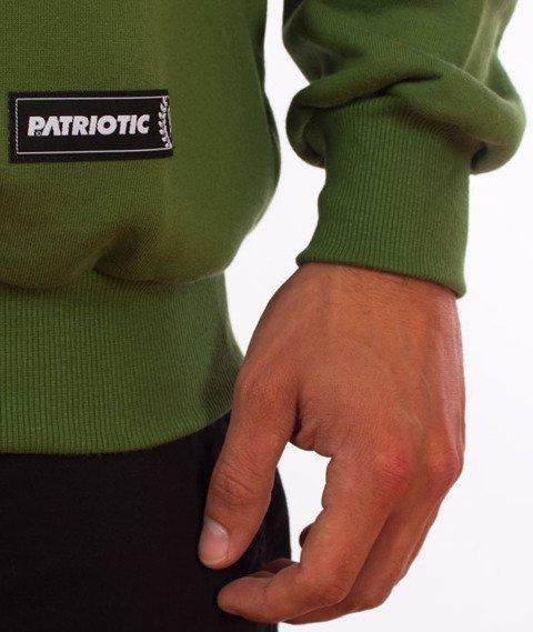 Patriotic-Tag Mini Bluza Zielona