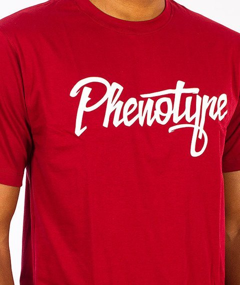 Phenotype-Alterlogo T-Shirt Burgundy
