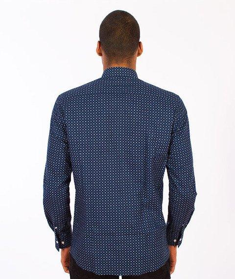 Phenotype-Pattern Shirt Navy