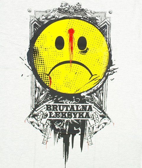 Pihszou-Brutalna Leksyka T-shirt Szary