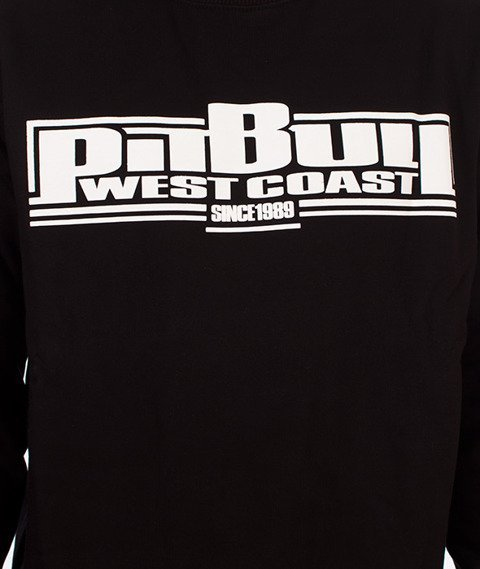 Pit Bull West Coast-Basic Crewneck Bluza Czarna