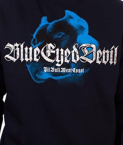 Pit Bull West Coast-Blue Eyed Devil VI Crewneck Bluza Granatowa