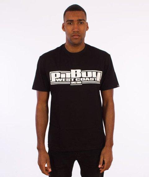 Pit Bull West Coast-Boxing Classic T-Shirt Czarny