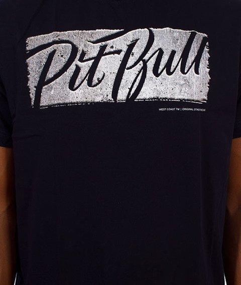 Pit Bull West Coast-Carmar T-Shirt Granatowy