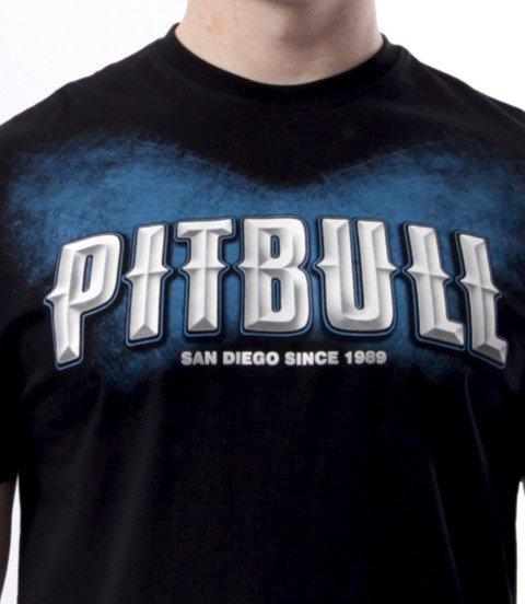 Pit Bull West Coast-City Of Dogs T-Shirt Czarny