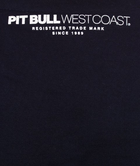 Pit Bull West Coast-Classic Boxing Crewneck Bluza Dark Navy
