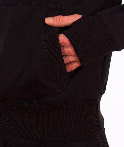 Pit Bull West Coast-Classic Logo Bluza Kaptur Czarna