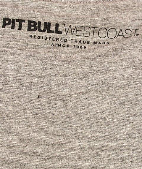 Pit Bull West Coast-Classic Logo T-Shirt Grey Melange