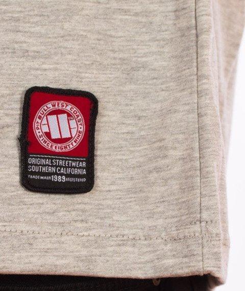Pit Bull West Coast-Classic Logo T-Shirt Szary