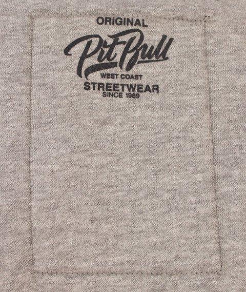 Pit Bull West Coast-El Jefe Hoody Bluza Szara/Grafitowa